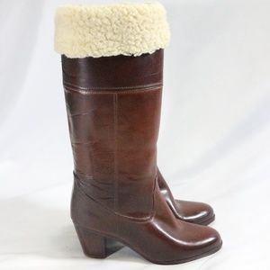 Waterproof USA  Full Shearling Lined Winter Boots